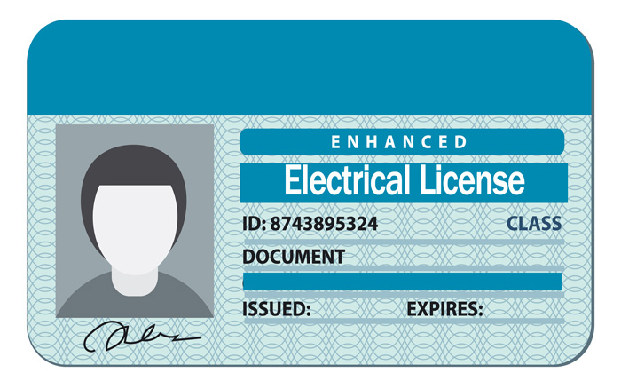 How to apply for an Electrical Contractor license in India?